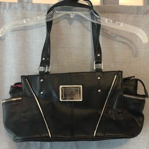 Like new Nicole by Nicole Miller satchel purse